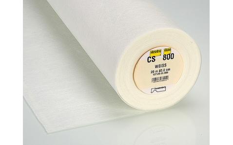 CS800 Паутинка плотная для рукоделия, для гардин и т.п. (80см*20м)белая