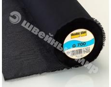 G700 (90смх25м чёрн) Тканная клеевая прокладка от легких до среднетяжелых тканей
