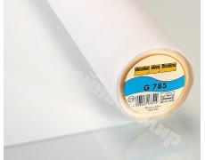G785-13 (90смх25м белая)Тканная клеевая прокладка для тонких струящихся тканей