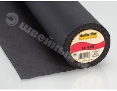 LE420 (90смх25м) Клеевой флизелин для натуральной и искусственной кожи, велюра и меха