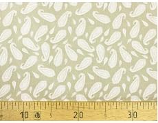 647564-299 Ткань Gutermann Marrakesch Контур восточного огурца на оливковом фоне