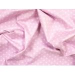 647705-320 Ткань Gutermann Little Friends Трилистник на розовом фоне