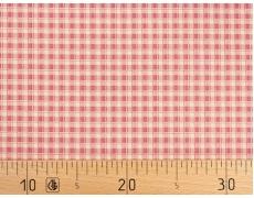 649457-519 Ткань Gutermann Lizzy's Garden/417 Розовый в клетку