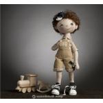 """""""Кукла Андрюша"""" - набор для шитья"""