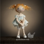 """""""Кукла Ксюша"""" - набор для шитья"""