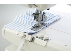 795816105 Janome Приспособление для пришивания резинки (6-8мм) для Janome CoverPro II (Family ML 8000w)