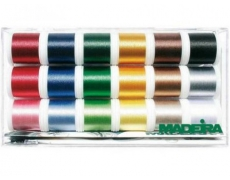 Набор вышивальных ниток Madeira Rayon 8040 200м (18катушек)