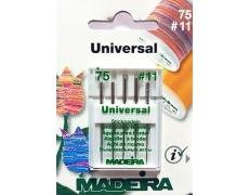 9450 Иглы MADEIRA-RAYON для вышивальных ниток №75 (по 5 шт)