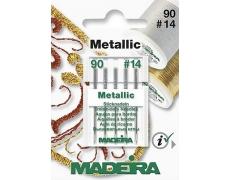 9451 Иглы MADEIRA-METALLIC  №90 (по 5 шт)