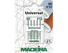 9455Т Иглы MADEIRA-UNIVERSAL №80 (титан)  3шт