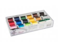 8040 Набор вышивальных ниток Madeira Rayon (18х200м)