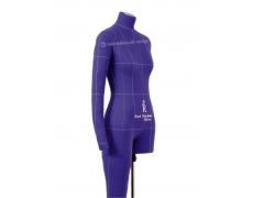 Манекен Monica Art р. 44 (фиолетовый) к-т: рука + нога + стойка