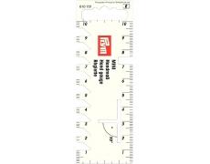 610731 Prym Мини-линейка для разметки и измерения