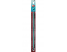 195285 Prym Крючок тунисский 25см/4,5мм бирюзовый пластик, 2-х сторонний