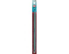 195287 Prym Крючок тунисский 25см/5,0мм бирюзовый пластик, 2-х сторонний