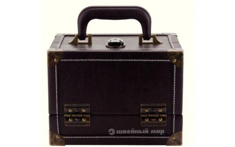 Чемоданчик для швейных принадлежностей M (коричневый) Prym 612831