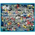 Булавки портновские с цветными головками 30*0.6 мм, 029216 Prym