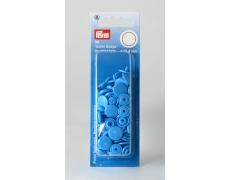 """393108 Prym Кнопки """"Color Snaps"""" сине-стальные 12,4 мм 30 шт."""