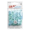 """393502 Кнопки Prym Love Кнопки """"Color Snaps mini"""", 9мм, круглые, бирюзовые и голубые оттенки"""