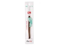 223504 Prym Крючок алюминиевый с деревянной ручкой 4.0мм (1шт.)