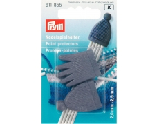 611855 Prym Наконечники для спиц 2,0-2,5 мм