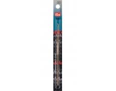 Крючок для вязания алюминиевый (серебристый) 14см / 2,0мм