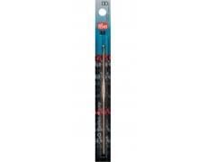 Крючок для вязания алюминиевый (серебристый)  14см / 3,0мм