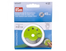 610477  Prym Запасное лезвие 45мм  для круглого ножа Ergonomics 45 мм