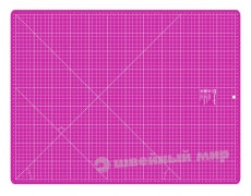 Коврик для раскроя 45x60 см МАЛИНОВЫЙ (Prym 611467)