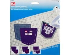 611936 Prym Набор для маркировки и глажки (шаблоны карманов для брюк)