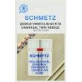 Игла Schmetz двойная №80/4 (SCS)