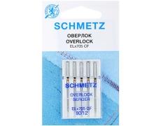 Иглы Schmetz оверлочные для трикотажа №80 ELX705 SUK CF (хромированные)