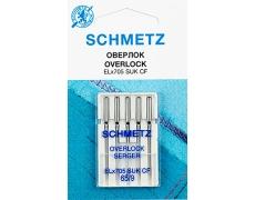 Иглы Schmetz к Coverlock №65 ELX705 SUK CF (хромированные)VJS