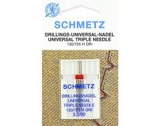 130/705H Игла Schmetz тройная  №80/3 по 1шт.