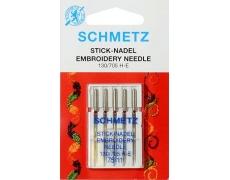 130/705H Иглы Schmetz вышивальные  №75 по 5шт (VMS)