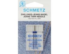 Игла Schmetz двойная для джинс №100/4 (SES)