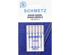130/705H Иглы Schmetz джинс №80 по 5шт.
