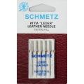 130/705H Иглы Schmetz кожа №80 по 5шт(VCS)