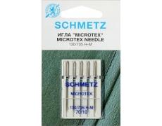 130/705H Иглы Schmetz микротекс  №70 по 5шт(VBS)