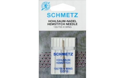 130/705H WING  Иглы Schmetz для мережки  №100 по 1шт.