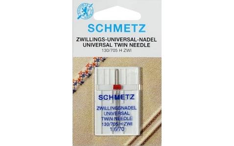 130/705H Игла Schmetz двойные №70/1,6 по 1шт(SBS)
