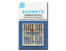 130/705H Иглы Schmetz универ, джинс,стр,двойн №80/2 (по 8+1шт)