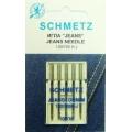 130/705H Иглы Schmetz джинс №100 по 5шт(VES)