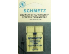130/705H Иглы Schmetz стрейч двойной №75/2,5