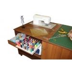 Стол для швейной машины и оверлока Комфорт 1QL+