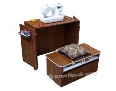 Стол для швейной машины и оверлока Комфорт NEXT