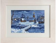 В447 Зимний пейзаж Н-р для вышивания