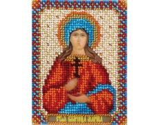 """PANNA """"CM-1504 Икона Святой Великомученицы Марины"""" Н-р д/вышивания ВХ-1370"""