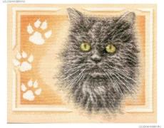 """PANNA """"Персидский кот"""" Н-р д/вышивания Ж-1171"""